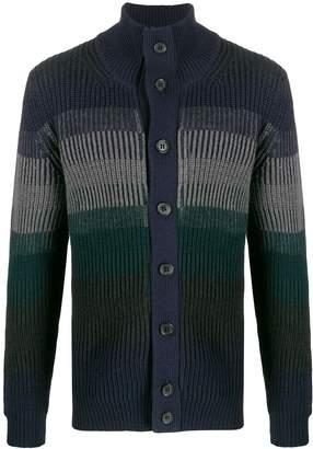 Drumohr knitted roll neck cardigan