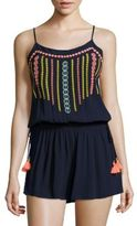 Lilly Pulitzer Beeler Embroidered Romper