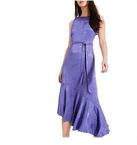 Phase Eight Isabella Jacquard Asymmetric Hem Dress