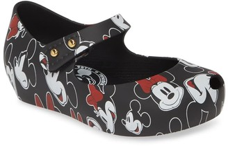 Mini Melissa Ultra Girl Mickey Wedge Flat (Toddler)