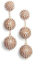 Tasha Women's Crystal Ball Drop Earrings