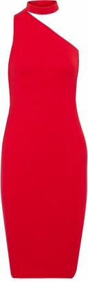 Bailey 44 Casablanca One-shoulder Stretch-jersey Dress