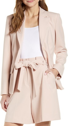 Rachel Parcell Twill Suit Jacket