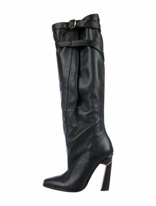 Derek Lam Leather Boots Black