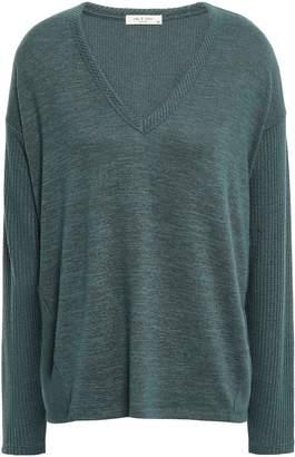 Rag & Bone Clara Melange Jersey Sweater