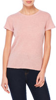 Qi Short Sleeve Cashmere Top