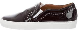 Givenchy Slip-On Patent Leather Sneakers