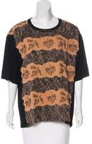 Bottega Veneta Printed Embellished Top w/ Tags