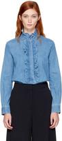 Stella McCartney Blue Denim Ina Shirt