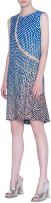 Akris Punto Viscose Blend Shift Dress