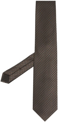 Tom Ford Spot-Pattern Pointed-Tip Tie