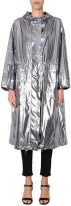 Stand Studio Drawstring Hooded Raincoat