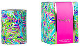 Lilly Pulitzer Island Time Lilly's Jungle Bamboo Scented Glass Candle
