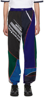 Ahluwalia Multicolor Over Stitch Patchwork Jogger Lounge Pants