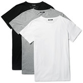 Balmain Three-pack Slim-fit Distressed Cotton-jersey T-shirts