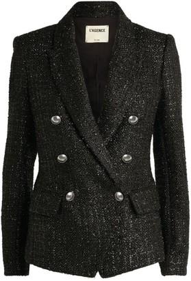 L'Agence Tweed Kenzie Blazer