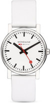 Mondaine A6583030011SBN Evo leather watch