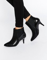 Pieces Psjosie Heeled Ankle Boots