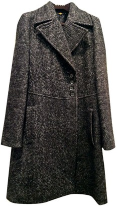 Gucci Grey Wool Coat for Women