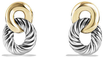 David Yurman Drop Earrings with 18k Gold