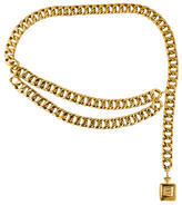 Chanel Draped Chain-Link Belt