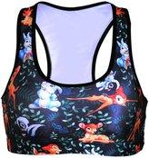 JOYHY Women's Printed Workout Sports Bra Yoga Vest