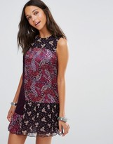 Anna Sui Flourish Print Dress