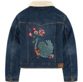 Catimini Embroidered jean jacket