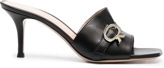 Gianvito Rossi Buckle Strap Sandals
