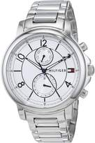 Tommy Hilfiger Women's 'SOPHISTICATED SPORT' Quartz Stainless Steel Casual Watch, Color:-Toned (Model: 1781819)