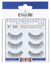 Eylure False Eyelashes Lengthening No.115 - 3 ct