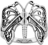 Sabrina Silver Sterling Silver Butterfly Ring 3/4 inch Long, size 6