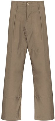 Snow Peak Straight-Leg Trousers