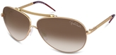 Cercione - Signature Metal Aviator Sunglasses