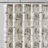 Pier 1 Imports Parisian Poste Shower Curtain