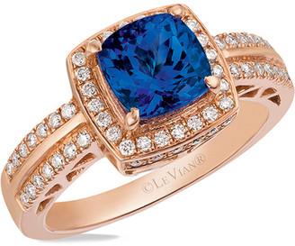 LeVian Le Vian 14K 0.32 Ct. Tw. Diamond & Tanzanite Ring