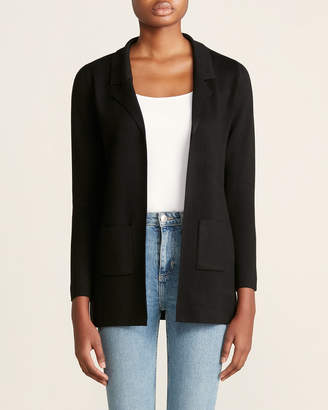 Sioni Long Sleeve Patch Pocket Sweater Blazer