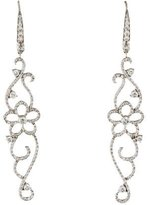 Penny Preville 18K Diamond Floral Drop Earrings