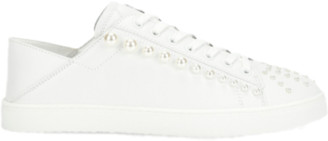 Stuart Weitzman Goldie Sneaker - White