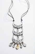 J. Jill Antiqued-Metal Crescent Necklace