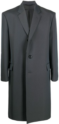 Lemaire Long Single-Breasted Coat