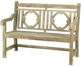 The Well Appointed House Classic Concrete English Garden Bench