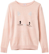 Little Karl Marc John Sale - Minny Cat Cashmere Jumper