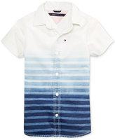 Tommy Hilfiger Grady Denim Cotton Shirt, Big Boys (8-20)