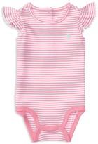 Ralph Lauren Girls' Stripe Bodysuit - Baby