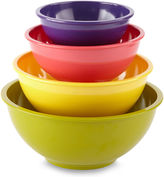 JCPenney Cooks 4-pc. Melamine Mixing Bowl Set