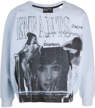 Enfants Riches Deprimes Name Your Poison Print Sweatshirt