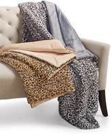 Charter Club Cozy Faux-Fur Leopard-Print Throw