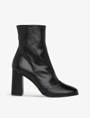 Whistles Dina heeled leather ankle boots