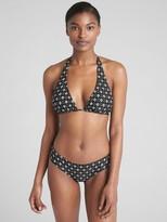 Gap Halter Floral Print Bikini Top